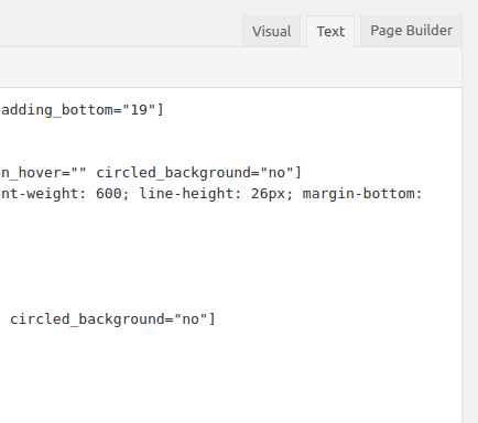 Select the text mode to view the code for the page.